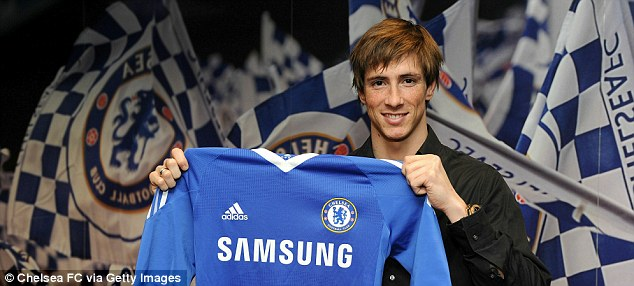 Raring to go: Torres will make his Chelsea debut on Sunday at home to Liverpool