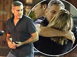 EXCLUSIVE: George Clooney spotted leaving Asanebo Sushi restaurant in Studio City, CA with friends, and kissing a mystery blond.\n\nPictured: George Clooney\nRef: SPL1246014  170316   EXCLUSIVE\nPicture by: Splash News\n\nSplash News and Pictures\nLos Angeles: 310-821-2666\nNew York: 212-619-2666\nLondon: 870-934-2666\nphotodesk@splashnews.com\n