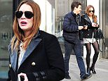 16 Mar 2016  - London  - UK ***PREMIUM EXCLUSIVE - MUST CALL FOR PRICING BEFORE USAGE*** Lindsay Lohan pictured for the first time with her new Russian boyfriend Egor Tarabasov. the couple spent two hours inside a bank, perhaps the are opening a joint account??   BYLINE MUST READ : XPOSUREPHOTOS.COM ***UK CLIENTS - PICTURES CONTAINING CHILDREN PLEASE PIXELATE FACE PRIOR TO PUBLICATION *** **UK CLIENTS MUST CALL PRIOR TO TV OR ONLINE USAGE PLEASE TELEPHONE  442083442007