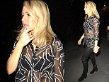 Newly single Ellie Goulding enjoys a night out in Manchester with friends after preforming at Manchester Arena øø***Exclusive All Round ***