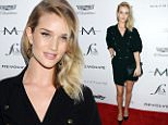 Mandatory Credit: Photo by REX/Shutterstock (5617331ay)\nRosie Huntington-Whiteley\nDaily Front Rows Fashion LA Awards, Los Angeles, America - 20 Mar 2016\n