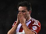 Jose Baxter of Sheffield United reacts during the Capital One Cup Semi-Final Second Leg match between Sheffield United and Tottenham Hotspur at Bramall Lane on January 28, 2015 in Sheffield, England.    SHEFFIELD, ENGLAND - JANUARY 28: (Photo by Laurence Griffiths/Getty Images)