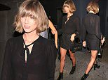 20 Mar 2016 - Los Angeles, CA - USA **STRICTLY AVAILABLE FOR UK AND GERMANY USE ONLY** *NO ONLINE USAGE UNTIL FURTHER NOTICE* *PREMIUM EXCLUSIVE - MUST CALL FOR PRICING *  Singer Taylor Swift and a gal pal attend Reese Witherspoon's 40th Birthday at Warwick Nightclub. BYLINE MUST READ : AKM-GSI-XPOSURE ***UK CLIENTS - PICTURES CONTAINING CHILDREN PLEASE PIXELATE FACE PRIOR TO PUBLICATION *** *UK CLIENTS MUST CALL PRIOR TO TV OR ONLINE USAGE PLEASE TELEPHONE 0208 344 2007*