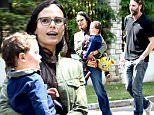 EXCLUSIVE: Jordana Brewster takes her son Julian and husband Andrew Form to a kids birthday party!\n\nPictured: Jordana Brewster\nRef: SPL1249197  190316   EXCLUSIVE\nPicture by: Splash News Online\n\nSplash News and Pictures\nLos Angeles: 310-821-2666\nNew York: 212-619-2666\nLondon: 870-934-2666\nphotodesk@splashnews.com\n