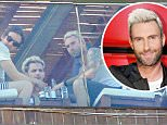 Rio de Janeiro, Brazil - Adam Levine enjoys a leisure day in Rio with his bandmates by the Fasano Hotel pool. Wearing a white wife beater, dark shorts and a black Los Angeles cap, the Maroon 5 lead singer showed off his tattooed body while enjoying the sunshine and a few drinks.\nAKM-GSI      March 20, 2016\nTo License These Photos, Please Contact :\nSteve Ginsburg\n(310) 505-8447\n(323) 423-9397\nsteve@akmgsi.com\nsales@akmgsi.com\nor\nMaria Buda\n(917) 242-1505\nmbuda@akmgsi.com\nginsburgspalyinc@gmail.com