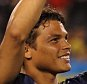 CHICAGO, IL - JULY 29:  Thiago Silva of Paris Saint-Germain lifts the International Champions Cup Trophy after the International Champions Cup match between Manchester United and Paris Saint-Germain at Soldier Field on July 29, 2015 in Chicago, Illinois.  (Photo by Matthew Ashton - AMA/Getty Images)