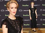 Celebrities attend 33rd annual PaleyFest Los Angeles - 'American Horror Story: Hotel' at The Dolby Theater.\nFeaturing: Sarah Paulson\nWhere: Los Angeles, California, United States\nWhen: 21 Mar 2016\nCredit: Brian To/WENN.com