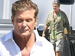 Exclusive... 52002493 Original 'Baywatch' star David Hasselhoff is spotted on the set of the upcoming 'Baywatch' reboot movie filming in Savannah, Georgia on March 22, 2016. FameFlynet, Inc - Beverly Hills, CA, USA - +1 (310) 505-9876