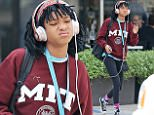EXCLUSIVE: Willow Smith leaves Cafe Gratitude after a solo lunch in Los Angeles, CA. The singer and actress was listening intently to what ever was blaring through her rose-gold Beats Headphones. Whatever it was, she definitely wasn't 'Getting Jiggy Wit It'.  Pictured: Willow Smith Ref: SPL1249447  210316   EXCLUSIVE Picture by: ?/Splash News  Splash News and Pictures Los Angeles: 310-821-2666 New York: 212-619-2666 London: 870-934-2666 photodesk@splashnews.com