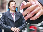 EXCLUSIVE: Jimmy Fallon seen covering his ring finger while out in the East Village in New York City. Jimmy was seen without his wedding band on his ring finger.\n\nPictured: Jimmy Fallon\nRef: SPL1249218  210316   EXCLUSIVE\nPicture by: Splash News\n\nSplash News and Pictures\nLos Angeles: 310-821-2666\nNew York: 212-619-2666\nLondon: 870-934-2666\nphotodesk@splashnews.com\n