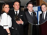 Picture Shows: Lisa Armstrong, Anthony McPartlin  March 22, 2016\n \n Anthony McPartlin and Lisa Armstrong were seen leaving The Royal Television Society Awards in London, England.\n \n Non-Exclusive\n WORLDWIDE RIGHTS\n \n Pictures by : FameFlynet UK © 2016\n Tel : +44 (0)20 3551 5049\n Email : info@fameflynet.uk.com