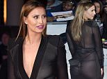 LONDON, ENGLAND - MARCH 22:  Ferne McCann arrives for the European Premiere of 'Batman V Superman: Dawn Of Justice' at Odeon Leicester Square on March 22, 2016 in London, England.  (Photo by Mark Cuthbert/UK Press via Getty Images)