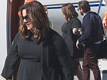EXCLUSIVE: Melissa McCarthy and husband Ben Falcone arrive into Melbourne via private Jet.\nMelissa McCarthy and her husband Ben Falcone are seen arriving into Melbourne via private jet.\nThe two are currently on a promotional tour for their new movie 'The Boss' and were seen getting off the plane together, with Ben giving Melissa a hand as she stepped off the stairs.\n\nPictured: Melissa McCarthy and Ben Falcone\nRef: SPL1250399  210316   EXCLUSIVE\nPicture by: Splash News\n\nSplash News and Pictures\nLos Angeles: 310-821-2666\nNew York: 212-619-2666\nLondon: 870-934-2666\nphotodesk@splashnews.com\n