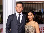 """01 Feb 2016 - Westwood, CA  - USA\n\nChanning and Jenna Dewan-Tatum attending the premiere of Universal Pictures' """"Hail, Caesar!"""" at the Mosaic Hotel.\n\nBYLINE MUST READ :XPOSUREPHOTOS.COM\n\n*** AVAILABLE FOR UK SALE ONLY***\n\n***UK CLIENTS - PICTURES CONTAINING CHILDREN PLEASE PIXELATE FACE PRIOR TO PUBLICATION ***\n\nGERMAN CLIENTS PLEASE CALL TO AGREE FEE PRIOR TO PUBLICATION **UK CLIENTS MUST CALL PRIOR TO TV OR ONLINE USAGE PLEASE TELEPHONE  +44 208 344 2007"""