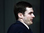 BRADFORD, ENGLAND - MARCH 24:  Adam Johnson arrives for sentence at Bradford Crown Court on March 24, 2016 in Bradford, England. The former Sunderland FC midfielder, 28, from Castle Eden, County Durham, will be sentenced on two sexual activity with a child and one charge of child grooming. (Photo by Nigel Roddis/Getty Images)
