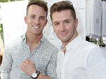 WEST HOLLYWOOD, CA - SEPTEMBER 18:  Athlete Dom Palange (L) and choreographer Travis Wall attend Kari Feinstein's Style Lounge at Sunset Marquis Hotel & Villas on September 18, 2015 in West Hollywood, California.  (Photo by Rebecca Sapp/WireImage)