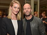 """LOS ANGELES, CALIFORNIA - MARCH 22:  Rosie Huntington-Whiteley and Jason Statham attend the """"Younger Skin Starts In The Gut"""" book launch party at Four Seasons Hotel Los Angeles at Beverly Hills on March 22, 2016 in Los Angeles, California.  (Photo by Charley Gallay/Getty Images for Ulysses Press)"""