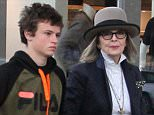 *EXCLUSIVE* Beverly Hills, CA - Style icon and actress Diane Keaton takes a walk in Beverly Hills with her son.  AKM-GSI   March  22, 2016 To License These Photos, Please Contact : Steve Ginsburg (310) 505-8447 (323) 423-9397 steve@akmgsi.com sales@akmgsi.com or Maria Buda (917) 242-1505 mbuda@akmgsi.com ginsburgspalyinc@gmail.com