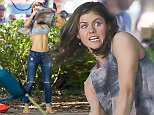 *EXCLUSIVE* Savannah, GA - Sexy Alexandra Daddario flashes Zac Efron while filming a heated scene for 'Baywatch' in Savannah, Georgia. Daddario  is rumored to have been dating her co-star and Hollywood hunk Efron for the past few weeks. Alexandra is a recognizable movie and TV actress and has acted in blockbuster movies like San Andreas and the Percy Jackson series. She was born on March 16, 1986 in New York City and has been in the entertainment industry since 2002.\nAKM-GSI      March 22, 2016\nTo License These Photos, Please Contact :\nSteve Ginsburg\n(310) 505-8447\n(323) 423-9397\nsteve@akmgsi.com\nsales@akmgsi.com\nor\nMaria Buda\n(917) 242-1505\nmbuda@akmgsi.com\nginsburgspalyinc@gmail.com