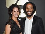 LOS ANGELES, CA - FEBRUARY 08:  Musician Ziggy Marley (R) and Orly Agai attend The 57th Annual GRAMMY Awards at the STAPLES Center on February 8, 2015 in Los Angeles, California.  (Photo by Larry Busacca/Getty Images for NARAS)