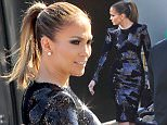 Los Angeles, CA - Jennifer Lopez is seen behind the scenes of American Idol looking stunning in a tight black sequin dress. \n  \nAKM-GSI       March 24, 2016\nTo License These Photos, Please Contact :\nSteve Ginsburg\n(310) 505-8447\n(323) 423-9397\nsteve@akmgsi.com\nsales@akmgsi.com\nor\nMaria Buda\n(917) 242-1505\nmbuda@akmgsi.com\nginsburgspalyinc@gmail.com