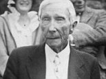 1923:  The millionaire John D Rockefeller (1839 - 1937) on his 84th birthday.  (Photo by Topical Press Agency/Getty Images)