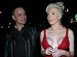 14.FEB.2016 - NEW YORK - USA\n\n*STRICTLY AVAILABLE FOR UK AND GERMANY USE ONLY*\n\nCourtney Stodden and Doug Hutchison out for a date night  having a laugh with photographers while out in West Hollywood.  Courtney looks amazing in red leaving little to the imagination with a low cut dress for Valentine's Day\n\n\nBYLINE MUST READ : AKM-GSI/XPOSUREPHOTOS.COM\n\n***UK CLIENTS - PICTURES CONTAINING CHILDREN PLEASE PIXELATE FACE PRIOR TO PUBLICATION ***\n\n*UK CLIENTS MUST CALL PRIOR TO TV OR ONLINE USAGE PLEASE TELEPHONE 0208 344 2007*