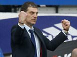 Editorial use only. No merchandising. For Football images FA and Premier League restrictions apply inc. no internet/mobile usage without FAPL license - for details contact Football Dataco Mandatory Credit: Photo by Jason Mitchell/IPS/REX/Shutterstock (5617045z) Slaven Bilic manager of West Ham United Chelsea v West Ham United, Barclays Premier League, Stamford Bridge, London, Britain