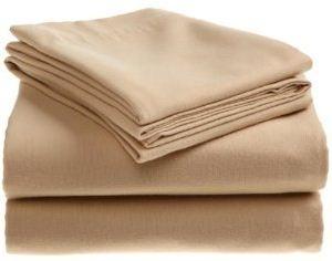 Supima Cotton 4-Piece Flannel Sheet Set