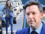 LOS ANGELES, CA - APRIL 24: Ben Affleck and Jennifer Garner are seen in Brentwood on April 24, 2015 in Los Angeles, California.  (Photo by GONZALO/Bauer-Griffin/GC Images)