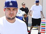 Calabasas, CA - Rob Kardashian seems to be getting along well with Blac Chyna's family and her little son, and Tyga's, King Cairo. The trio were spotted leaving Toys R Us with a cart full of things and King Cairo hanging off the side while Rob pushed. He helped them get things in the car before he drove away. \n  \nAKM-GSI       March 23, 2016\nTo License These Photos, Please Contact :\nSteve Ginsburg\n(310) 505-8447\n(323) 423-9397\nsteve@akmgsi.com\nsales@akmgsi.com\nor\nMaria Buda\n(917) 242-1505\nmbuda@akmgsi.com\nginsburgspalyinc@gmail.com
