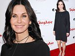 Mandatory Credit: Photo by REX/Shutterstock (5618955n)\nCourteney Cox\nUCLA Institute of the Environment and Sustainability Celebrates the Champions of Our Planet's Future, Los Angeles, America - 24 Mar 2016\n