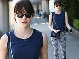 *EXCLUSIVE* West Hollywood, CA - Emma Stone is seen barefaced in Weho after a workout. The 27-year-old actress is wearing Nike graphic black and white leggings paired with a navy blue shirt and sneakers. Netflix has ordered 10 episodes of dark comedy Maniac, reports Variety, with Emma Stone and Jonah Hill taking starring roles and Cary Fukunaga directing.\n  \nAKM-GSI        March 24, 2016\nTo License These Photos, Please Contact :\nSteve Ginsburg\n(310) 505-8447\n(323) 423-9397\nsteve@akmgsi.com\nsales@akmgsi.com\nor\nMaria Buda\n(917) 242-1505\nmbuda@akmgsi.com\nginsburgspalyinc@gmail.com