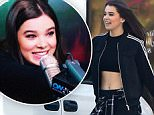 149813, EXCLUSIVE: Hailee Steinfeld shows off her toned tummy after a 3 hour dance class in LA. The actress/singer looked deservedly fit in a little black crop top, Adidas track jacket, jogger sweats with a flannel tied around her waist, and Nike sneakers. Los Angeles, California - Wednesday March 23, 2016. Photograph: Sam Sharma/JS, © PacificCoastNews. Los Angeles Office: +1 310.822.0419 UK Office: +44 (0) 20 7421 6000 sales@pacificcoastnews.com FEE MUST BE AGREED PRIOR TO USAGE
