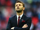 FILE - Aston Villa Manager Tim Sherwood Sacked After 28 Games In Charge LONDON, ENGLAND - MAY 30:  Tim Sherwood manager of Aston Villa looks dejected in defeat after the FA Cup Final between Aston Villa and Arsenal at Wembley Stadium on May 30, 2015 in London, England. Arsenal beat Aston Villa 4-0.  (Photo by Paul Gilham/Getty Images)