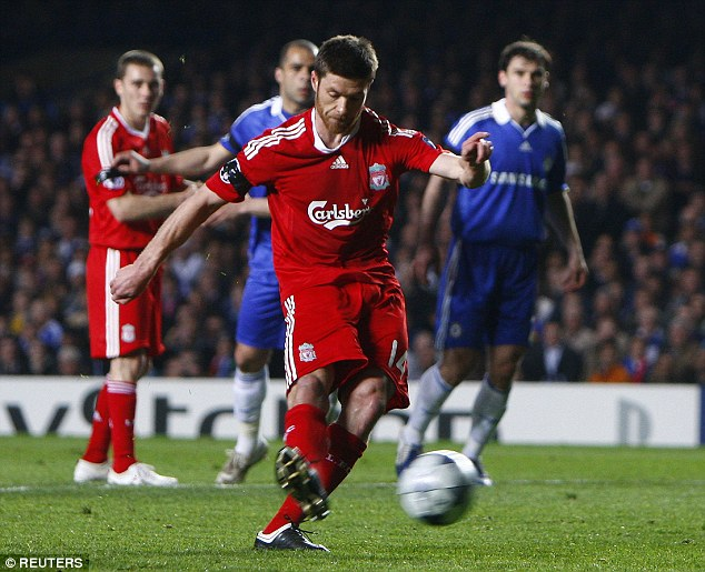 Memories: Alonso, who spent five years at Liverpool, said he turned down Premier League clubs