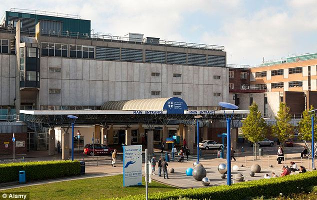 Ashya was taken from Southampton General Hospital, pictured, without the consent of doctors