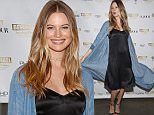 NEW YORK, NY - MARCH 23:  Victoria's Secret Angel Behati Prinsloo celebrates the launch of Behati Juicy Couture Black Label at Dream Downtown on March 23, 2016 in New York City.  (Photo by Taylor Hill/FilmMagic)