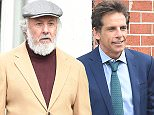 24 Mar 2016 - New York - USA  Dustin Hoffman and Ben Stiller filming Yeh Din Ka Kissa in NYC. Pictured: Ben Stiller   BYLINE MUST READ : XPOSUREPHOTOS.COM  ***UK CLIENTS - PICTURES CONTAINING CHILDREN PLEASE PIXELATE FACE PRIOR TO PUBLICATION ***  **UK CLIENTS MUST CALL PRIOR TO TV OR ONLINE USAGE PLEASE TELEPHONE  44 208 344 2007 ***