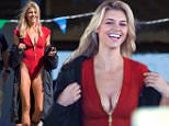 Tybee, GA - Kelly Rohrbach was spotted on set of the new reboot film, Baywatch. The blonde bombshell was wearing the iconic red swimsuit but looked to be a little cold as she put on a heavy coat. She looked fit and toned as she got ready to film.\nAKM-GSI      March 23, 2016\nTo License These Photos, Please Contact :\nSteve Ginsburg\n(310) 505-8447\n(323) 423-9397\nsteve@akmgsi.com\nsales@akmgsi.com\nor\nMaria Buda\n(917) 242-1505\nmbuda@akmgsi.com\nginsburgspalyinc@gmail.com