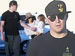 EXCLUSIVE. Coleman-Rayner. Los Angeles, CA, USA. \nMarch 23, 2016 \nChanning Tatum and wife Jenna Dewan take daughter Everly to meet with friends for dinner at Mexican fast food joint Chipotle in Los Angeles. The Magic Mike star was dressed casually in a black T-shirt and grey sweatpants while his wife went in a more stylish getup complete with a hat and sunglasses.\nCREDIT LINE MUST READ: Coleman-Rayner\nTel US (001) 310 474 4343 - office \nTel US (001) 323 545 7584 - cell\nwww.coleman-rayner.com