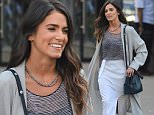"""23.March.2016 - New York - USA\n*** STRICTLY AVAILABLE FOR UK AND GERMANY USE ONLY ***\nNew York, NY - Nikki Reed makes a stylish appearance on the streets of NYC in a long duster-like cardigan, sheer grey top, a white maxi skirt, and black heels. The """"Twilight"""" actress appears to be having fun with a friend as she enjoys the twilight of the Big Apple.\nBYLINE MUST READ : AKM-GSI-XPOSURE\n***UK CLIENTS - PICTURES CONTAINING CHILDREN PLEASE PIXELATE FACE PRIOR TO PUBLICATION ***\n*UK CLIENTS MUST CALL PRIOR TO TV OR ONLINE USAGE PLEASE TELEPHONE 0208 344 2007*\n"""