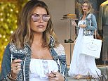 *EXCLUSIVE* Beverly Hills, CA - Jessica Wright wants to look pretty in Prada as she goes shopping at the high end store in Beverly Hills. The 'TOWIE' star is seen in a long flowing white babydoll style dress and a white lace and denim jacket.    AKM-GSI      March 24, 2016 To License These Photos, Please Contact : Steve Ginsburg (310) 505-8447 (323) 423-9397 steve@akmgsi.com sales@akmgsi.com or Maria Buda (917) 242-1505 mbuda@akmgsi.com ginsburgspalyinc@gmail.com