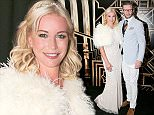 jkpix denise van outen and eddie boxhall at the grosvenor house world cup  gatsby party in aid of the Al Jalila Foundation