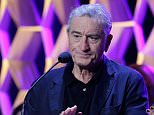 NEW YORK, NY - APRIL 23:  Co-founder of the Tribeca Film Festival actor Robert De Niro speaks at the Tribeca Film Festival Awards Night at Spring Studios on April 23, 2015 in New York City.  (Photo by John Lamparski/WireImage)