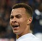 LONDON, ENGLAND - NOVEMBER 17:  Dele Alli of England celebrates after scoring his sides opening goal during the International Friendly match between England and France at Wembley Stadium on November 17, 2015 in London, England.  (Photo by Michael Regan - The FA/The FA via Getty Images)
