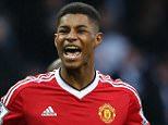 """File photo dated 20-03-2016 of Manchester United's Marcus Rashford who has been hailed by Manchester United team-mate Juan Mata as """"a great player in the making"""". PRESS ASSOCIATION Photo. Issue date: Monday March 21, 2016. See PA story SOCCER Man Utd. Photo credit should read Martin Rickett/PA Wire."""