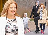 Picture Shows: Aviana Olea Le Gallo, Darren Le Gallo, Amy Adams  March 24, 2016    'Batman V Superman' actress Amy Adams and husband Darren Le Gallo take their daughter Aviana out for a stroll in Central Park in New York City, New York. The family was walking off their lunch from the Melt Shop.     Exclusive all round  UK RIGHTS ONLY    Pictures by : FameFlynet UK © 2016  Tel : +44 (0)20 3551 5049  Email : info@fameflynet.uk.com