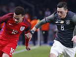 Football Soccer - Germany v England - International Friendly - Olympiastadion, Berlin, Germany - 26/3/16  England's Dele Alli in action with Germany's Mesut Ozil  Action Images via Reuters / Carl Recine  Livepic  EDITORIAL USE ONLY.