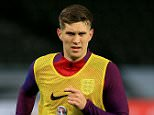 England's John Stones during the training session at The Olympic Stadium, Berlin. PRESS ASSOCIATION Photo. Picture date: Friday March 25, 2016. See PA story SOCCER England. Photo credit should read: Adam Davy/PA Wire. RESTRICTIONS: Use subject to FA restrictions. Editorial use only. Commercial use only with prior written consent of the FA. No editing except cropping. Call +44 (0)1158 447447 or see www.paphotos.com/info/ for full restrictions and further information.